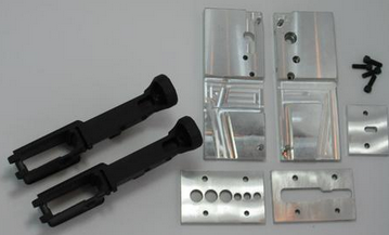 AR15 80 Lower receiver 2 pack Black Anodized and Jig kit combo pack