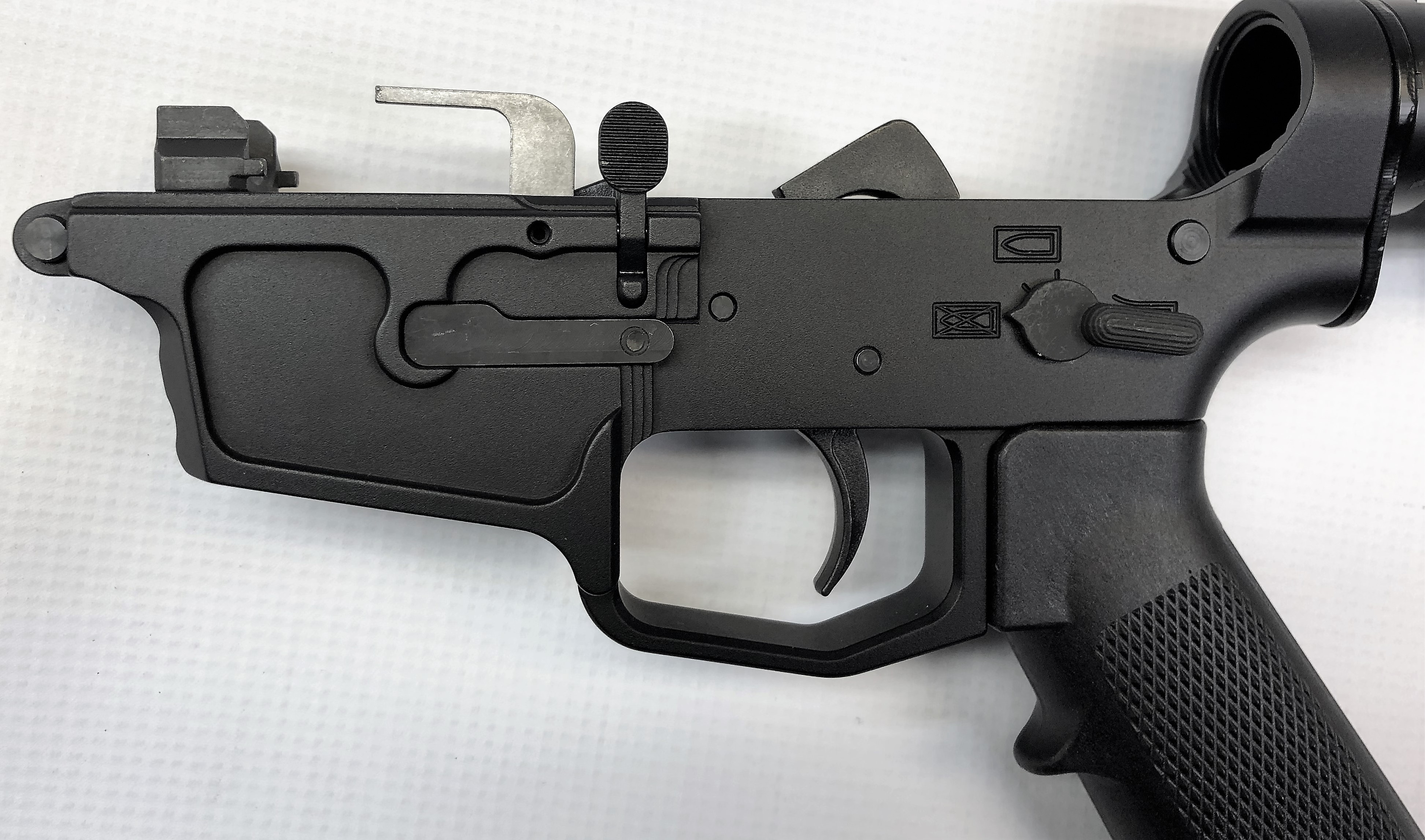 Complete C5 Lower with Milspec Grip and M4 Stock