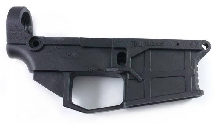 ar 15 80 polymer gen2 lower receiver with free machining jig black