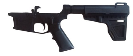 New Frontier Armory 9mm Lower reciever with KAK Shockwave