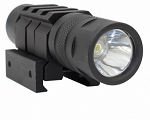 150 Lumen LED Compact Flashlight Picatinny Wire Switch FOR RIFLE OR SHOTGUN