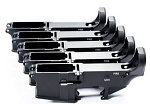 80% AR15 Lower receiver Bulk 5 Pack Black Anodized