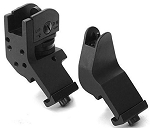 A2 Backup Iron Sights 45 Degree Front and Rear Fixed