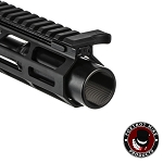 Foxtrot Mike 9mm Flash Can Long AR Muzzle Device - 1/2x36