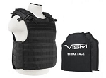 VISM BODY ARMOR QR Carrier w/11X14 Soft Panels