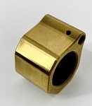 HM Defense Low Profile Gas Block in Gold