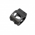 Low Profile Steel Micro Gas Block - Clamp-on Design