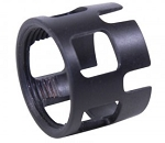 AR15 EXTREME DUTY WIDE CASTLE NUT FOR MIL-SPEC BUFFER TUBE