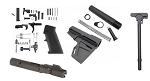 9MM AR-15 LOWER KIT WITH BCG AND CHARGING HANDLE