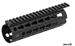 UTG PRO AR15 Super Slim Keymod Drop-in Carbine Length Rail