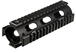 UTG PRO Model 4/AR15 Car Length Drop-in Quad Rail, Black
