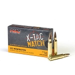 PMC X-TAC Match .223 Remington Rifle Ammo - 77 Grain OTM 20rd Box