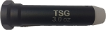 TSG ENGRAVED 3.0 oz Black Buffer