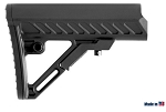 UTG PRO AR15 Ops Ready S2 Mil-spec Stock Only, Black