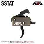 AIM SSTAT Single Stage AR Trigger - Curved