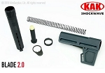 KAK Industry Shockwave Blade 2.0 Pistol Brace Kit  Grey