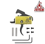 Rise Armament RA-140 Super Sporting Performance Curved Trigger - DTOM Special Edition