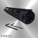 AR-15 Free Float Quad Rail Handguard Extended Length 16