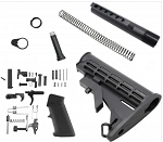 AR-15 Lower Build kit with Stock