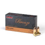 PMC Bronze 9mm Luger Handgun Ammo - 124 Grain FMJ