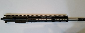"USA MADE UPPER With 16"" Stainless Steel  Bearcreek Barrel and 12"" Free Float handguard"