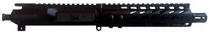 "7.5"" 300 Blackout Upper with 7"" Slim Rail and M4 Flash Hider"