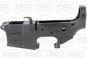 ABC AR 9MM STRIPPED GLOCK STYLE LOWER RECEIVER- BLACK