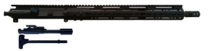 "Complete 16"" Socom Upper 556 with 15"" Free Float rail Plus BCG and Charging Handle"