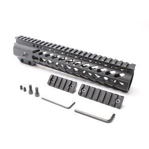 "AR-15 Keymod 10"" Super Slim Light Keymod Free Float Handguard"