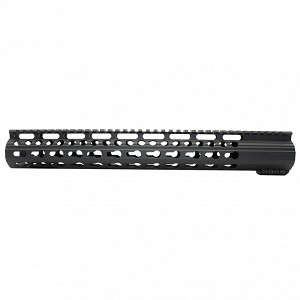 Ar10 Slim Keymod Free Float Clamp On Style Hand Guard Wdetachable
