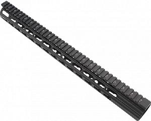 Ar10 Slim Keymod Free Float Clamp On Style Hand Guard Wdetachable