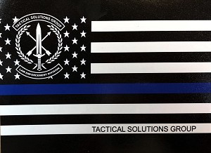 TSG Flag Sticker