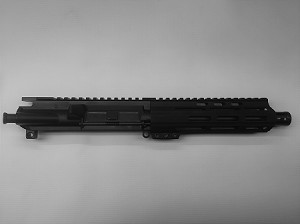 "8"" 9MM UPPER WITH 7"" FREE FLOAT HANDGUARD"
