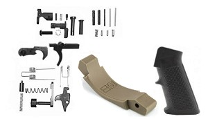 Lower Parts Kit with FDE B5 Trigger Guard