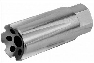 1/2X28 (5 56) Linear Compensator Sound & Concussion Forwarder/ Stainless  Steel (USA Made)