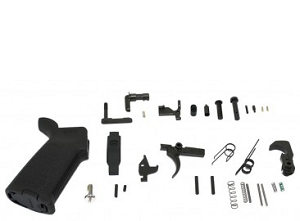 Lower Parts Kit with Magpul Moe Grip