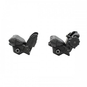 Front and Rear Sight Polymer Flip-Up Sights