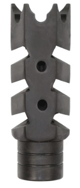 AR-15 .223 5.56 Nato STEEL Shark Muzzle Brake 1/2x28 Pitch Thread