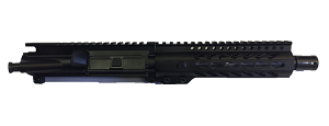 "7.5"" STAINLESS STEEL 9MM UPPER WITH 7"" FREE FLOAT HANDGUARD"