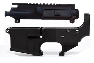 Mil Spec Upper Receiver With 80% AR15 Lower Receiver
